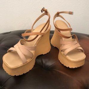 Strappy, Chunky-Platform Sandals by Aldo